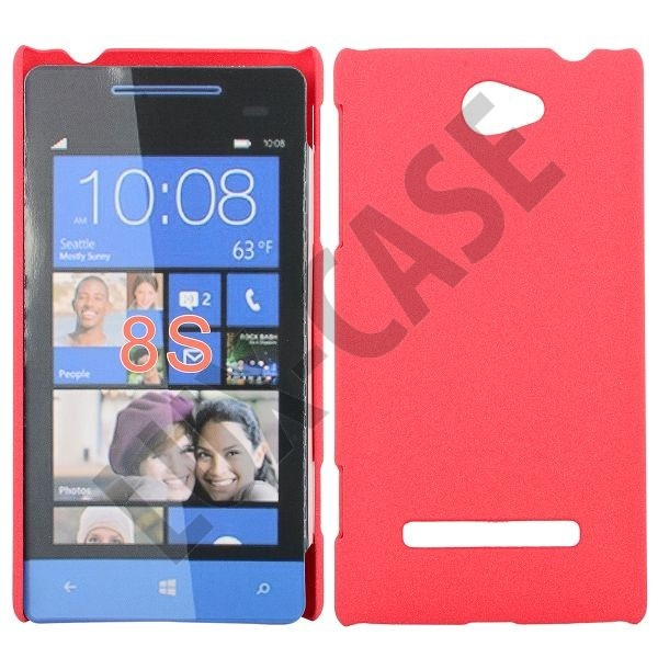 Rock Shell (Rød) HTC Windows Phone 8S Deksel
