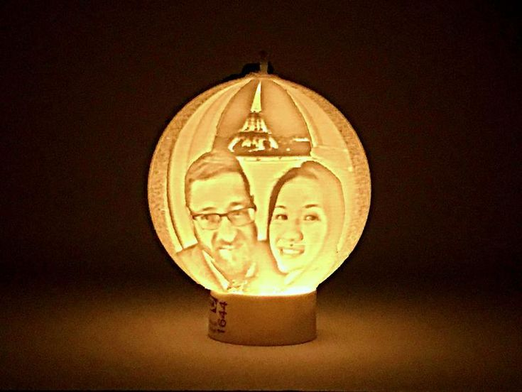 Custom Portrait Ornament Ball Moon Lamp Personalized Photo Text 3d Printed Lithophane Led Night Light Valentines Gift Christmas Decor In 2020 Led Night Light Unique Items Products Custom Portraits