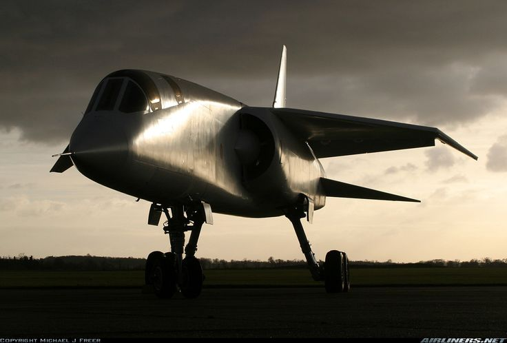 BAC TSR-2 showing off her sleek lines.
