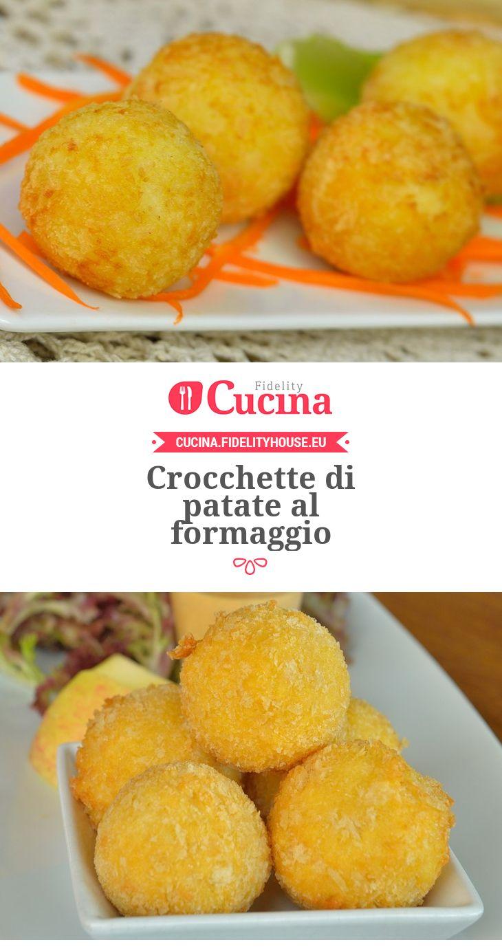 Crocchette di patate al formaggio