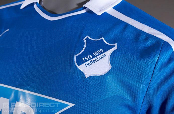Football Shirts - Puma TSG 1899 Hoffenheim Home Jersey Sponsor ...