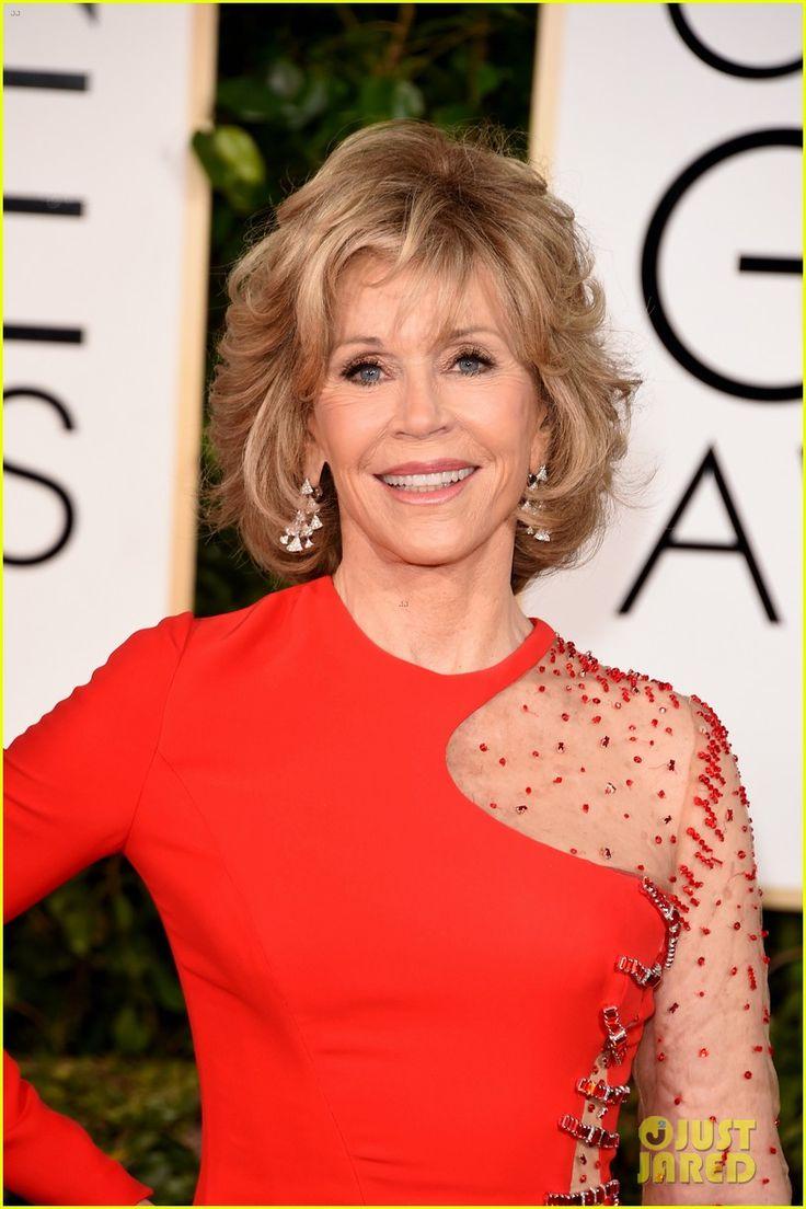 Grace & Frankie's Jane Fonda & Lily Tomlin Hit Golden Globes 2015   2015 Golden Globes, Jane Fonda, Lily Tomlin Photos   Just Jared