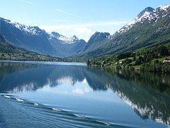 Noruega, Fiordo, Noruego, Crucero