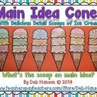 *** MY BEST SELLER!! ***   Here's a hands-on, creative way to practice identifying the main idea and detail sentences!   This is an engaging activi...