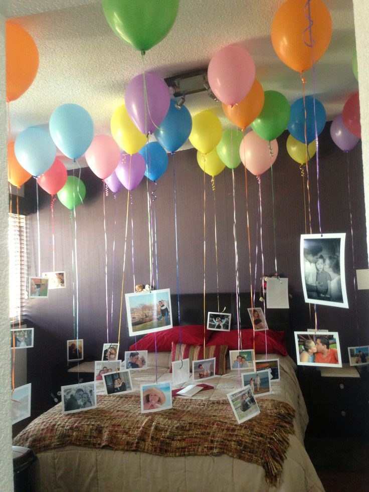 1000 images about amor on pinterest picture collages for Cuarto adornado con globos