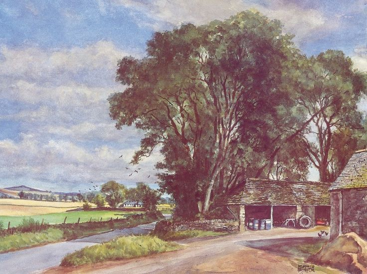 James McIntosh Patrick The Steadings Signed Limited Edition Print | Scottish Contemporary Art