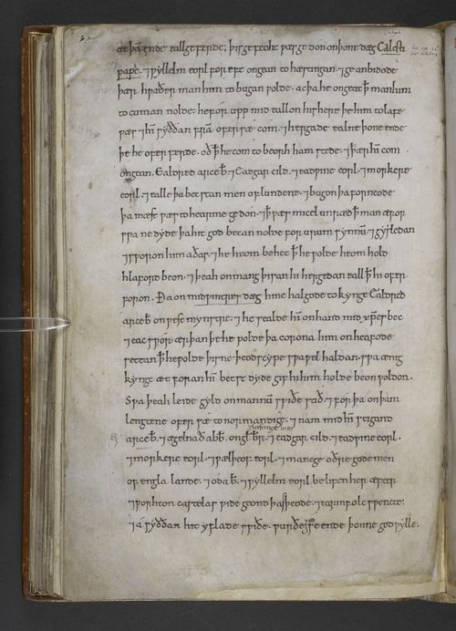 Caught up on your Old English? 9th-12th Century Anglo-Saxon Chronicles Now Online http://britishlibrary.typepad.co.uk/digitisedmanuscripts/2016/02/anglo-saxon-chronicles-now-online.html