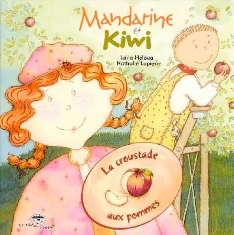 La croustade aux pommes (série Mandarine et Kiwi) Les pommes poussent-elles dans les pommiers ou dans les vergers? C'est ce que Mandarine et Kiwi découvrent dans cette nouvelle escapade gourmande. Ils apprennent aussi comment on cultive les pommes et comment on doit les cueuillir. Pour finir, ils se régalent d'une délicieuse croustade.