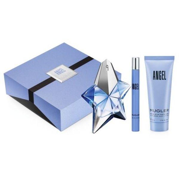 Thierry Mugler  Angel Recruitment Set (€74) ❤ liked on Polyvore featuring beauty products, fragrance, mist perfume, eau de parfum perfume, parfum fragrance, thierry mugler perfume and thierry mugler fragrances