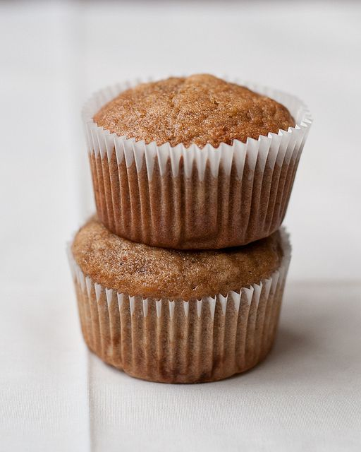 gluten-free banana muffins by Lindsey Johnson {Cafe Johnsonia}, via Flickr