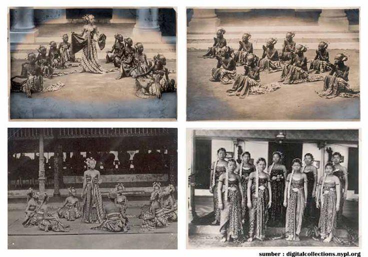 Bedoyo Semang Dance, at 1860, Keraton Yogyakarta