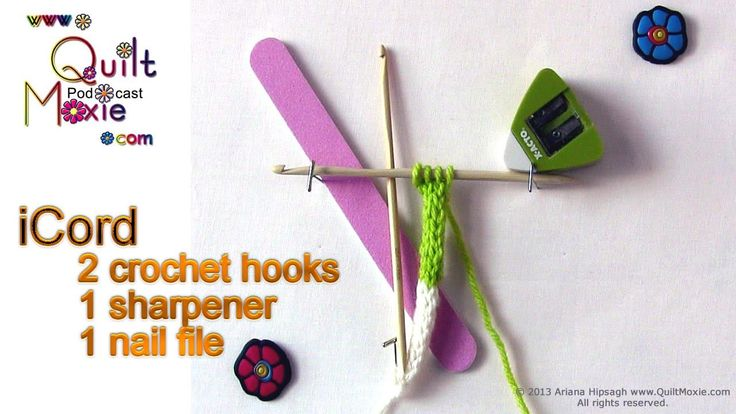 How about using crochet hooks to create your next knitted iCord.  I prefer the stitch quality that you get.
