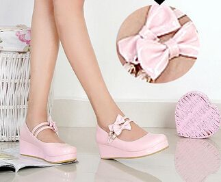 Cheap cosplay kakashi, Buy Quality shoe chains for snow directly from China cosplay wig Suppliers:new 2014 brand women Lolita princess bowtie double ankle strap hasp wedges round toe platform cosplay single shoes size