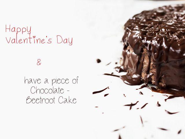 Eat Me!: Шоколадно-свекольный торт на День Св. Валентина / Valentine's Day Chocolate-Beetroot Cake