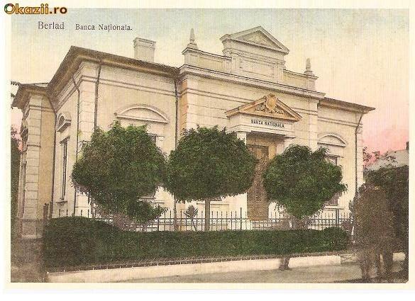 Barlad - Banca Nationala - antebelica