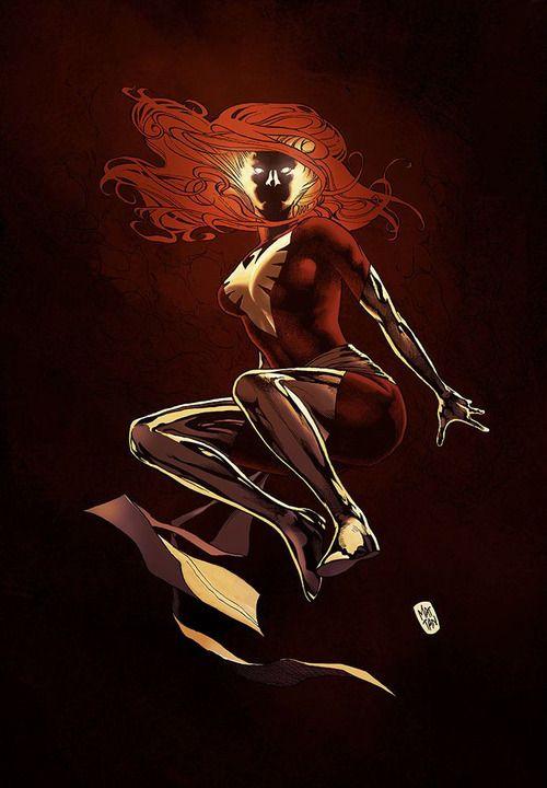 Dark Phoenix by Mattan