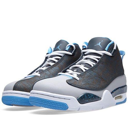 Nike Air Jordan Dub Zero 'Wolf Grey' (Wolf Grey & University Blue)