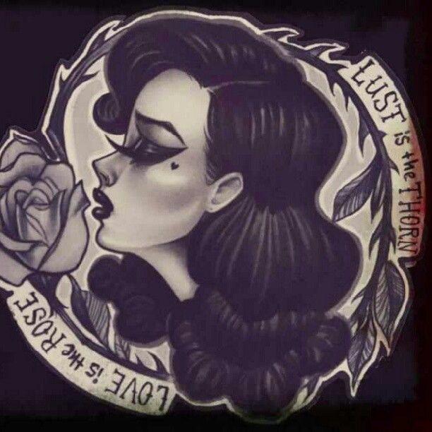 tattoo style art