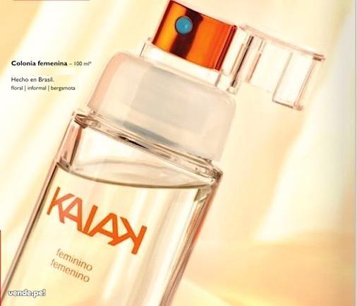 Perfume Kaiak femenino de Natura  $67.000