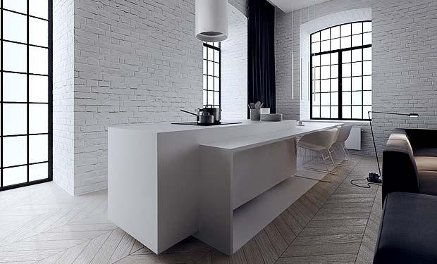 lofti sisekujundus, Tamizo Architects