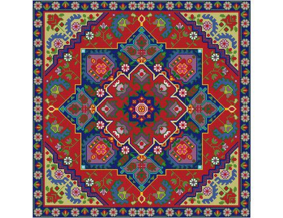 Persia Cross Stitch by MartisXSDesigns on Etsy