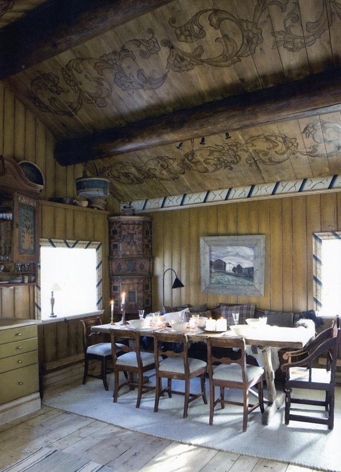 Home in Norway, designed by Rikke Mrck og Cathrine Vgsmyr/Bolivar Home