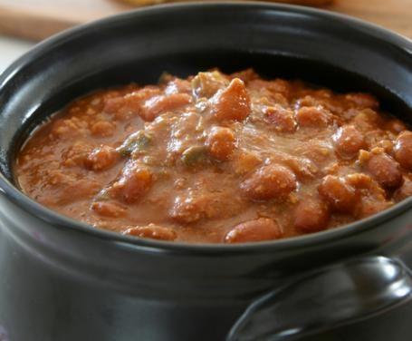 fagioli rossi alla messicana - un contorno molto gustoso preparato con i fagioli rossi aromatizzati al peperoncino molto golosi