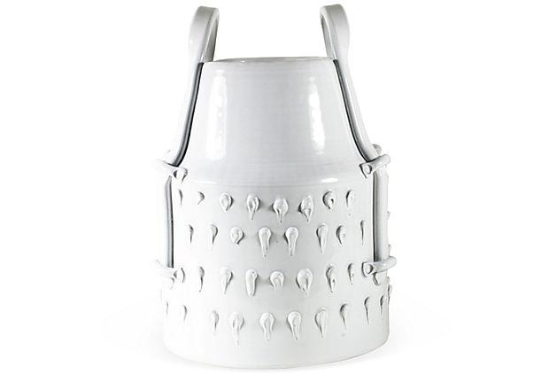 Wesley Cadle, Glazed Pocket Book Vase, I