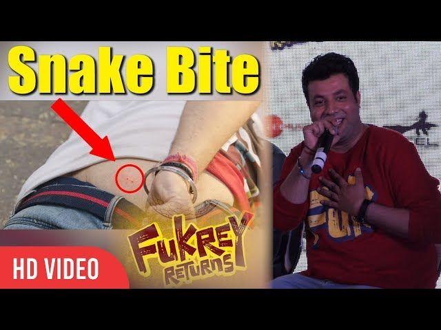Varun Sharma Funny Reaction On Snake Bite Scene From Fukrey Return | Viralbollywood | lodynt.com |لودي نت فيديو شير