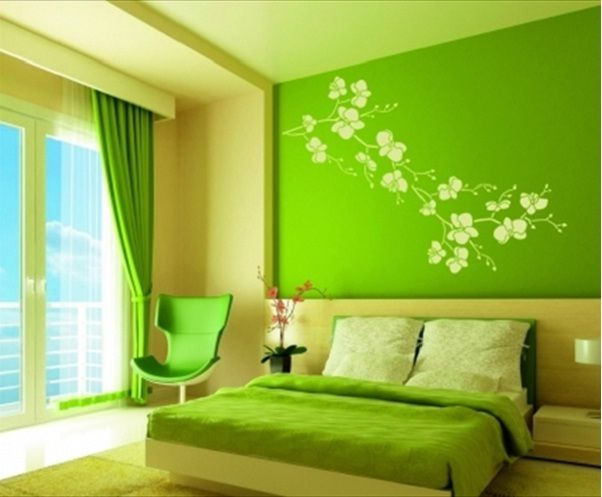 hunter green bedroom color schemes green bedroom for teenage - Bedrooms With Color