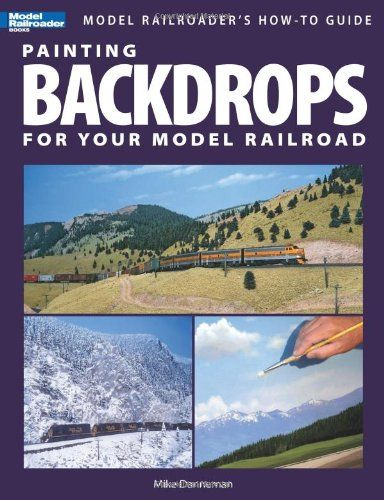 Build and design your own model railroad/ train scenes! Painting Backdrops for Your Model Railroad (Model Railroader's How-To Guides) by Mike Danneman http://www.amazon.com/dp/0890247056/ref=cm_sw_r_pi_dp_hZnevb1D2QCQF