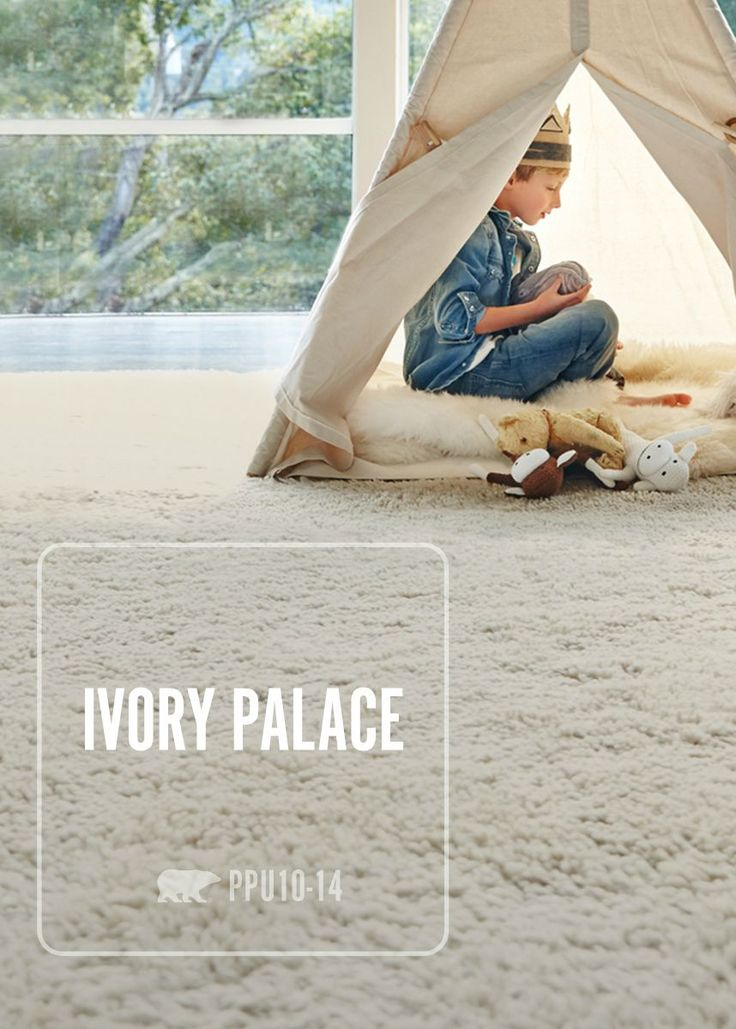 Against The Muted Cream Tones Of The Behr Ivory Palace