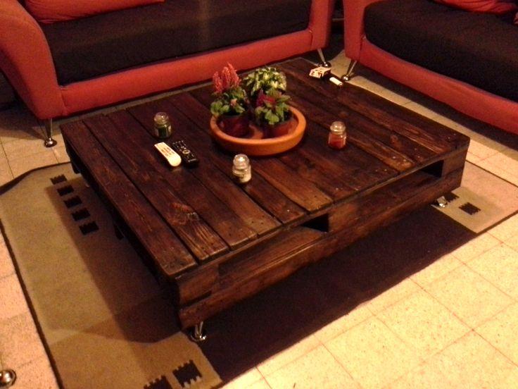 Best 25 mesas de centro rusticas ideas on pinterest - Mesa centro palet ...