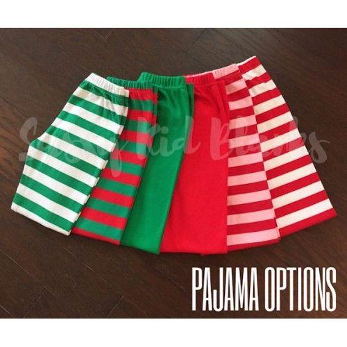 PRE-ORDER Boys Christmas Pajama Solid Green