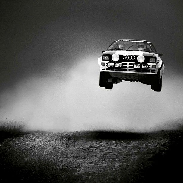 """combustible-contraptions: """" 1984 Audi Quattro A2 