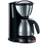 Braun KF600 Impressions 10-Cup Thermal Coffeemaker, Brushed Stainless Steel (Kitchen)By Braun