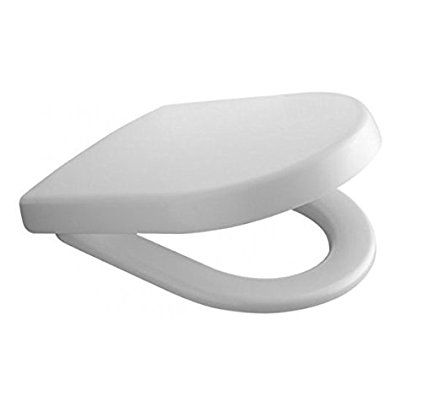 Villeroy & Boch Subway 2.0 9M69S101 Toilet Seat Compact with Quick Release and Soft Closing Function White