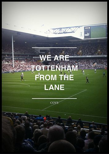 White Hart Lane, Tottenham Hotspur v. Fulham. English Language Review: http://rdd.me/yw6rmyfm