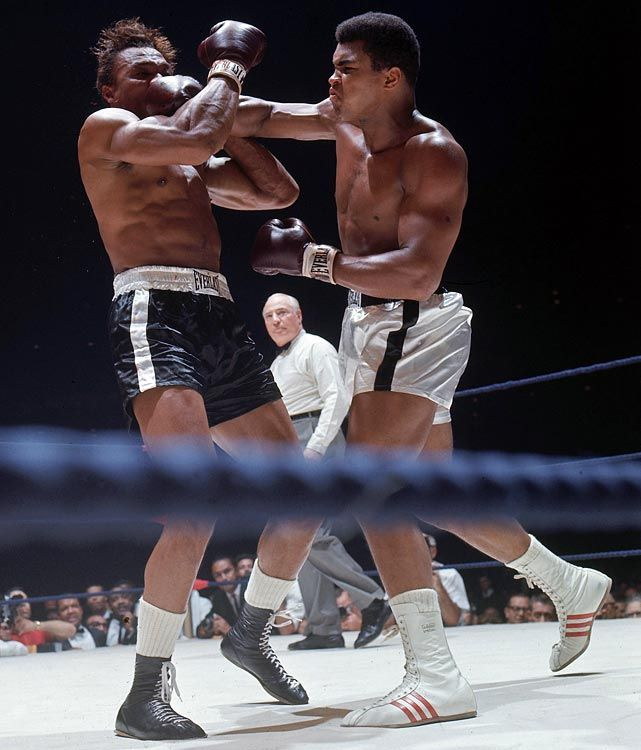 Muhammad Ali and Cleveland Williams | Ali! | Pinterest ...