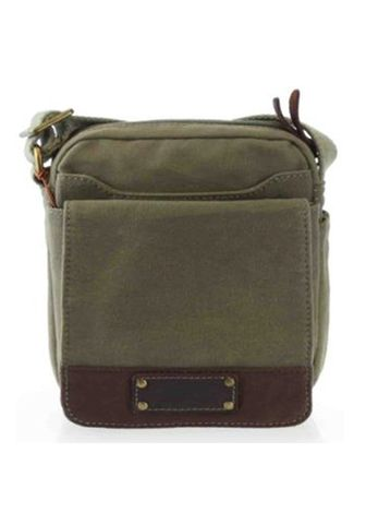 Troop Oxford Waxed Canvas Body Bag