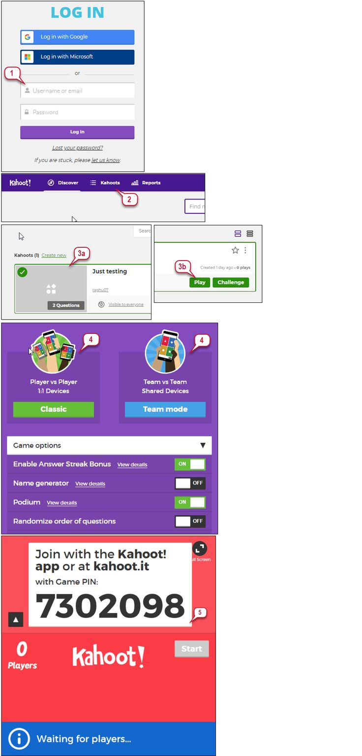 How to Play Kahoot! in Class in 2020 Kahoot