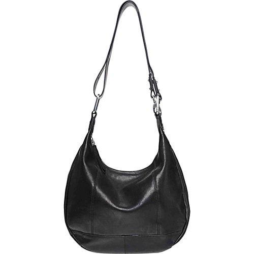 Ellington Handbags Eva Hobo Black - Ellington Handbags Leather Handbags
