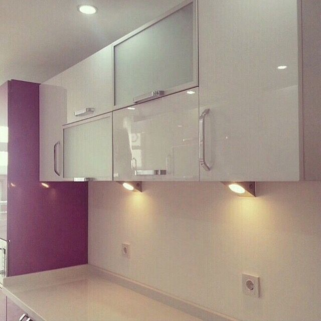 #interiors #interiordesign #kitchencabinets #kitchendecor #work #white #cabinets
