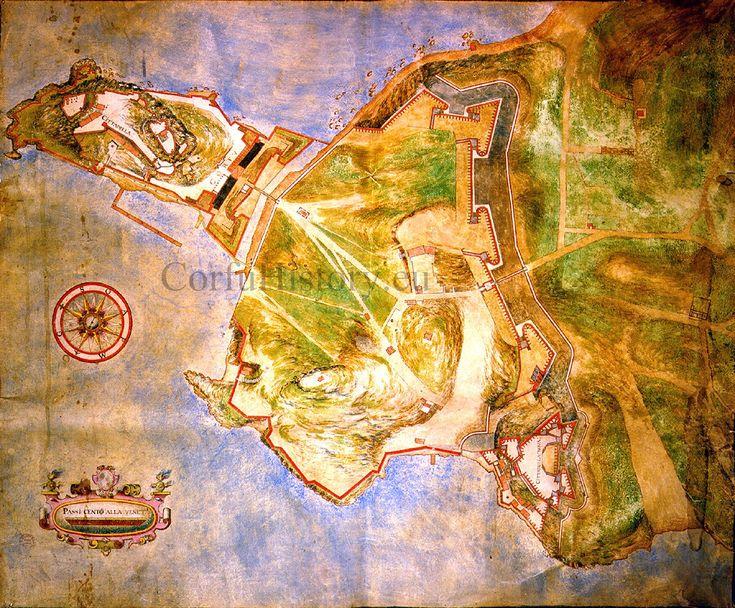 Corfu walls