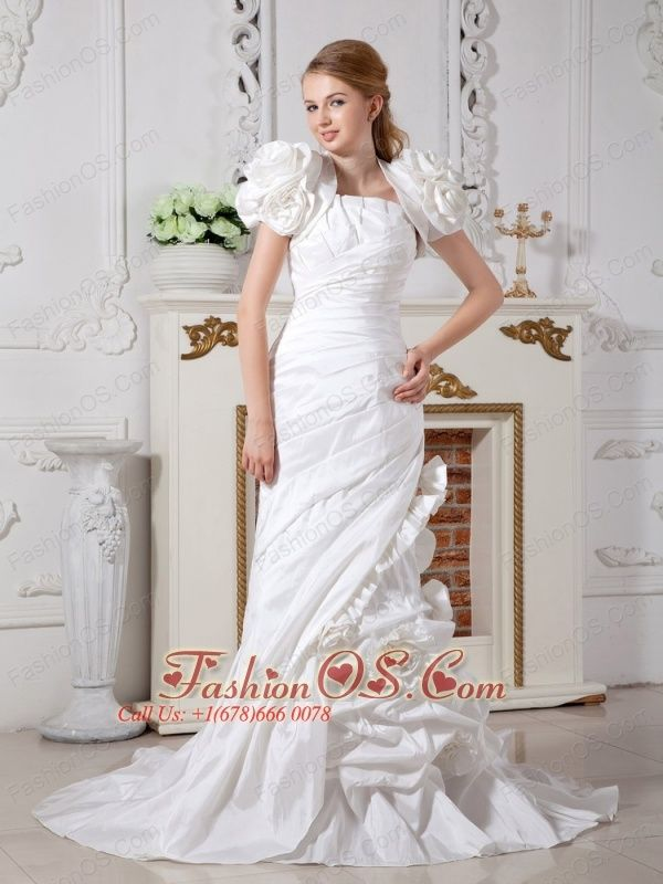 10 best Cap Sleeves Wedding Dress with Ruffles images on Pinterest ...