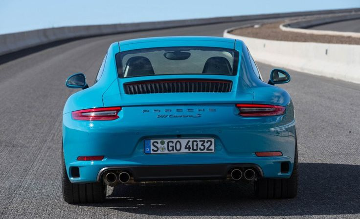 2017 Porsche 911 Carrera S Back View