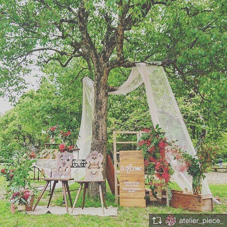 Garden wedding . welcome coordinate . . #tiarawedding1995 #okayamawedding#okayama#wedding#welcome#thankyouforcoming flower#cutiepie倶楽部#岡山#結婚式#岡山花嫁#コーディネート#ウェルカムコーディネート#ガーデンコーディネート#ウェディングこー#フラワーコーディネート#ガーデンウェディング#映画のような結婚式