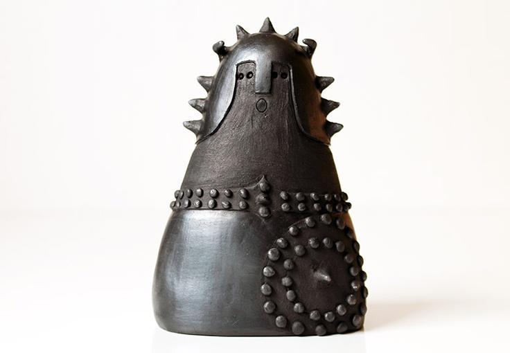 Ceramica : Guerriero cm 14