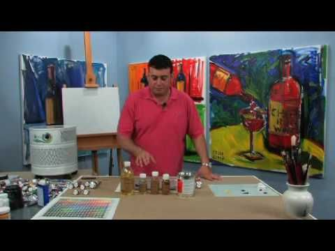 Oil Painting Mediums: Art Gear Review - YouTube