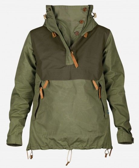 Anorak jackets are getting hard to find, but they are well worth the time investment. The kangaroo pouch, multiple points of adjustment, and hood make them really versatile wind blockers.